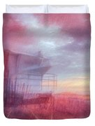 Watching The Day Begin In Watercolors Duvet Cover