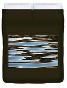 Water Abstract Okanagan Lake Duvet Cover