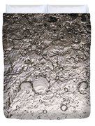 Water Abstraction - Liquid Metal Duvet Cover