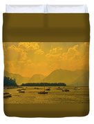 Water And Fire At Leeks Marina Duvet Cover