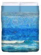 Water And Sky Duvet Cover