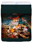 Water Art Duvet Cover