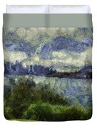 Water Beyond Duvet Cover