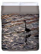 Water Bird Series 17 Duvet Cover