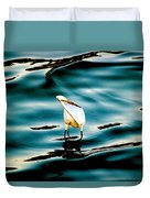 Water Bird Series 33 Duvet Cover