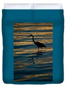 Water Bird Series 7 Duvet Cover