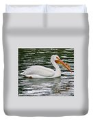 Water Bird With Notches Duvet Cover