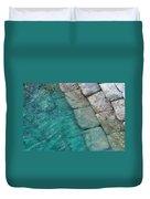 Water Blocks Duvet Cover