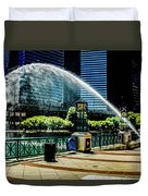 Water Canon In Color Duvet Cover