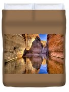 Water Canyon Duvet Cover