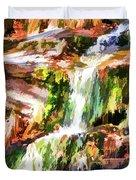 Water Cascading Duvet Cover