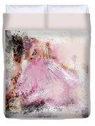 Water Colour Ballerina Duvet Cover