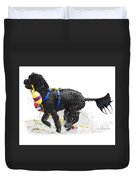 Water Dog 7 Duvet Cover