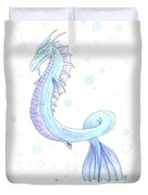 Water Dragon Duvet Cover
