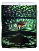 Water Drop Collision Duvet Cover