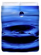 Water Drop Duvet Cover by Eric Ferrar