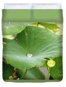 Water Droplet  Duvet Cover