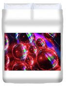 Water Droplets 3 Duvet Cover