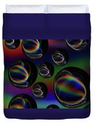 Water Droplets 5 Duvet Cover