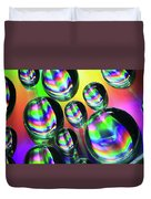 Water Droplets 6 Duvet Cover