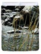 Water Flowing 2 Duvet Cover