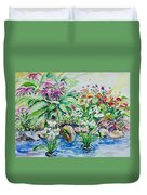 Water Garden Duvet Cover