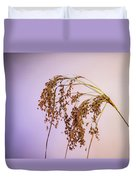 Drooping Teddy Bear Grass Duvet Cover