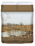 Water Hole 007 Duvet Cover