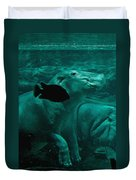 Water Horse Ballet Duvet Cover