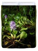 Water Hyacinth Duvet Cover