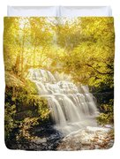 Water In Fall Duvet Cover