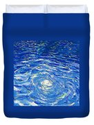 Water In The Pool Duvet Cover