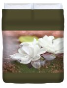 Water Lilac Duvet Cover