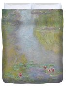 Water Lilies 1908 Duvet Cover