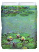Water Lilies 1917 6 Duvet Cover