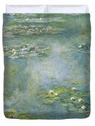 Water Lilies 21 Duvet Cover