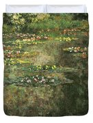Water Lilies 4 Duvet Cover