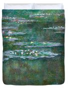 Water Lilies 5 Duvet Cover