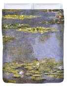 Water Lilies 8 Duvet Cover