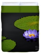 Water Lilies, Aligned  Duvet Cover
