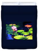 Water Lilies Duvet Cover by Harry Spitz