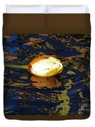 Water Lilly Bud  Duvet Cover