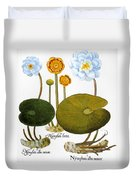 Water Lily, 1613 Duvet Cover