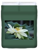 water lily 34 Yellow Lotus I Duvet Cover