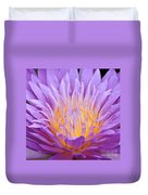 water lily 55 Ultraviolet Duvet Cover