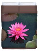Water Lily - Afternoon Delight Duvet Cover