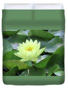 Water Lily - Burnin' Love 14 Duvet Cover