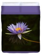 Water Lily Close Up Duvet Cover