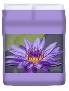 Water Lily Director George T Moore Duvet Cover