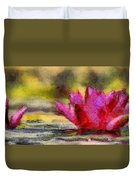 Water Lily - Id 16235-220419-3506 Duvet Cover